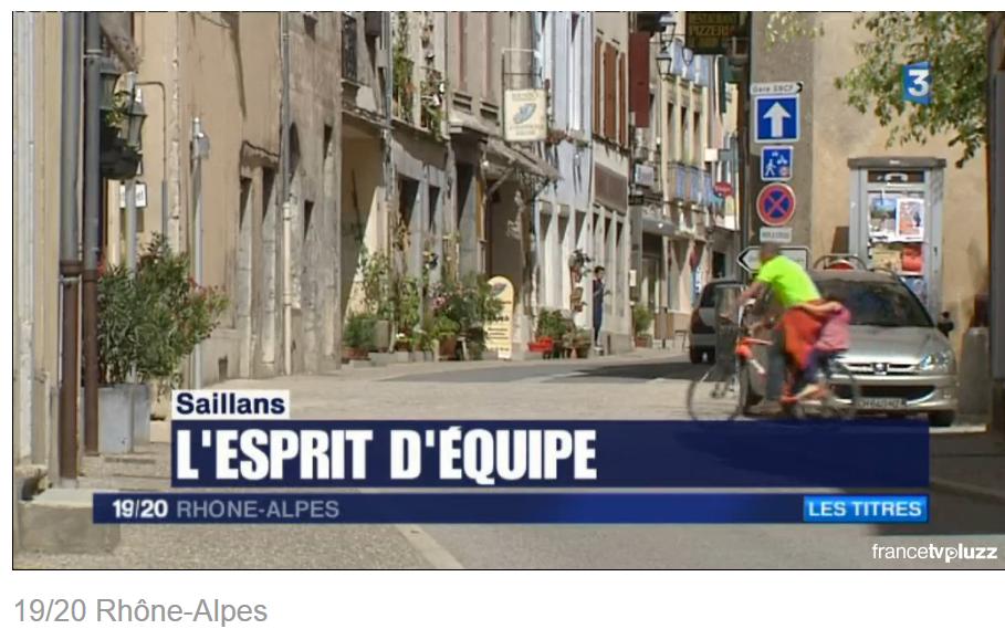 france 3 saillans 2 juillet 2016