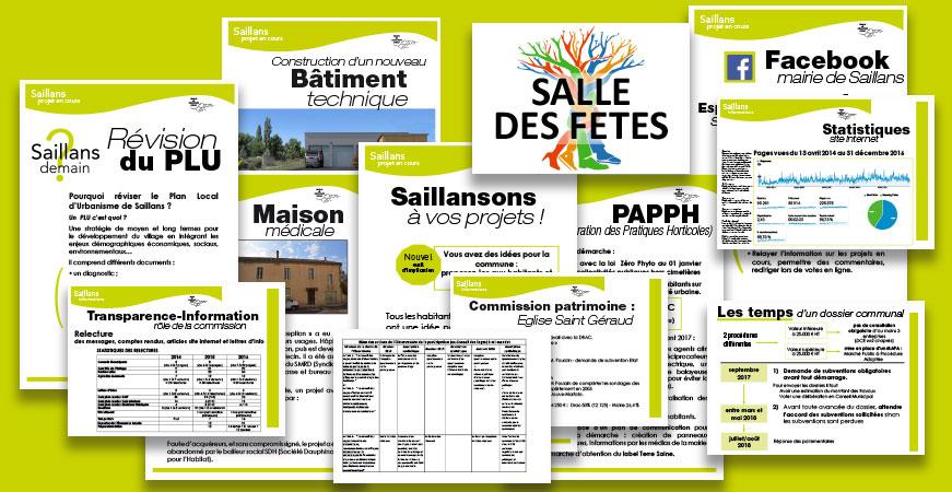 bilan participatif et voeux équipe municipale saillans 2016