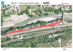 route de la gare Saillans