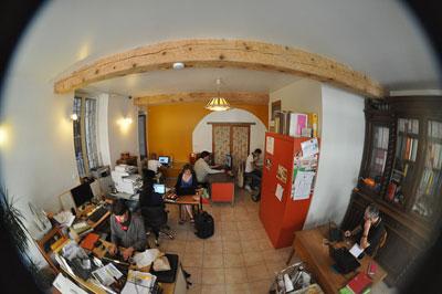 co-working à Saillans
