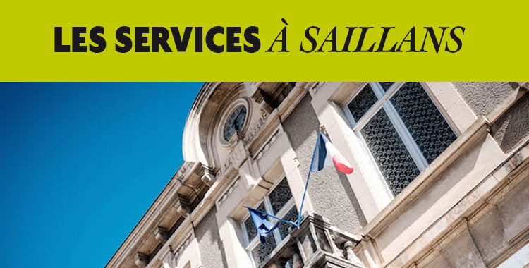 les services à Saillans