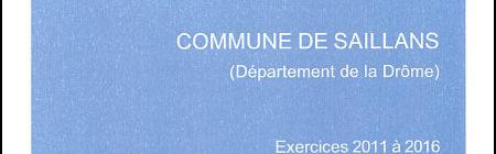 Communication du rapport d'observations de la Chambre Régionale des Comptes