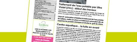 Lettre d'info municipale n° 21 - automne 2018