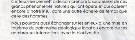 conférence : Géologie et paysages de la vallée de la Drôme