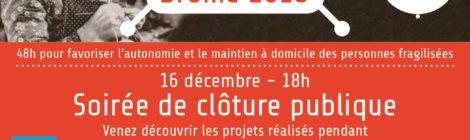 samedi 15/12 Hackathon Drôme 2018 au Falab à Crest