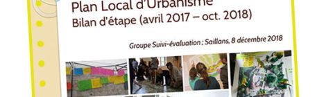Participation et Plan Local d'Urbanisme à Saillans : Bilan d'étape