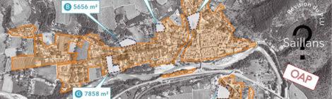 Synthèse de l'atelier participatif du 6 février 2019  : comment urbaniser à Saillans ?