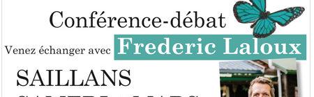 09-03 Conférence-débat avec Frederic Laloux