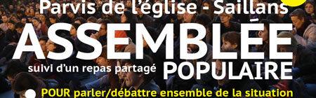 Les gilets jaunes de Saillans proposent une Assemblée populaire le 31 mars