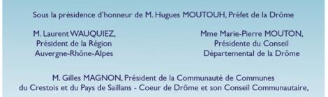 Samedi 22  : Inauguration officielle de La Vélodrôme, entre Crest et Saillans
