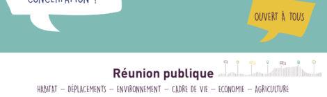 SCoT Vallée de la Drôme - Invitation réunion publique PADD