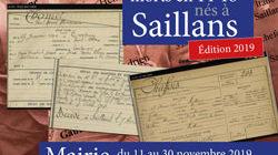 """Expo """"Les poilus morts en 14-18 nés à Saillans"""""""