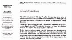 La sénatrice de la Drôme Marie-Pierre Monier écrit au Premier Ministre