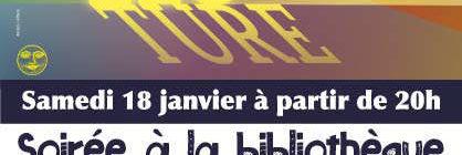 18/01 Nuit de la lecture