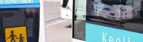 Transports par bus, Kéolis communique